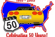 Brass Ring Multimedia design: All 50 Corvette Logo (image)