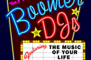 "Brass Ring Multimedia design: Boomer DJ's ""Drive-in Theater Marquee"" Logo Design (image)"