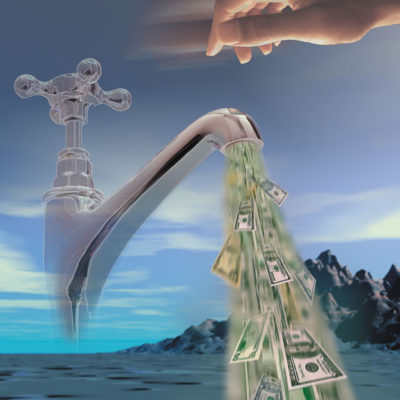 "Hewlett-Packard ""Cash Faucet"" Digital Image Creation Project"