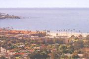 Brass Ring Multimedia digitally created image: La Jolla Coastline