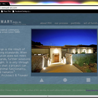 Primary Design, Inc. Website Design