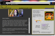 "Brass Ring Multimedia design: Soulaire Music CD release website ""mini-page"" (image)"