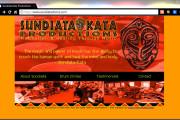 Brass Ring Multimedia design: Sundiata Kata Productions home page (image)