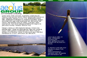 Brass Ring Multimedia - Website design for Aeolus Group, environmental consulting firm (image)