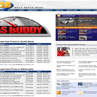 Brass Ring Multimedia: GasBuddy.com screen capture (image)