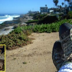 """Brass Ring Multimedia - Chuck Taylor All-Star """"gas-mask"""" camo sneakers (on Edward's feet, image)"""