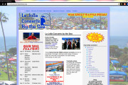 Brass Ring Multimedia - La Jolla Concerts by the Sea 2011 Home Page website design, WordPress (image)