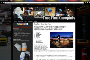 Brass Ring Multimedia: True Flex Safety Knee Pads WordPress Site Design, Home Page (image)