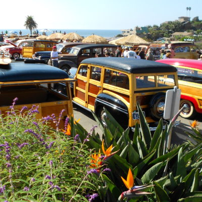 Wavecrest Woodies Show (2011), Moonlight Beach, Encinitas, CA. (images)