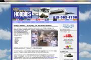 Phillip's Hobbies WordPress website design ($397 WordPress Special)