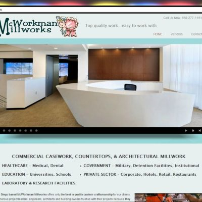 New Website! McWorkman Millworks WordPress Website Design