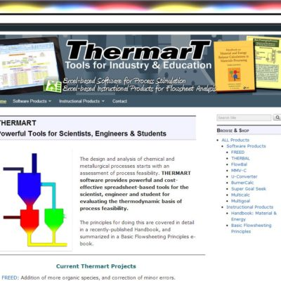 NEW SITE! ThermarT WordPress website design