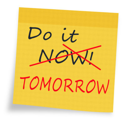 Science Daily Article: Procrastination and impulsivity genetically linked: Exploring the genetics of 'I'll do it tomorrow'