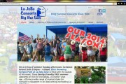 La Jolla Concerts By the Sea WordPress Website (2014 Home Pg)