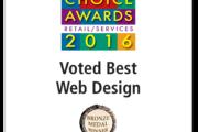 Brass Ring Multimedia Wins 2016<br>La Jolla Village News Readers Choice Award for Web Design