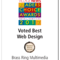 La Jolla Village News FOURTH (2014, 2015, 2016 & 2017) Reader's Choice Award for Best Web Design.